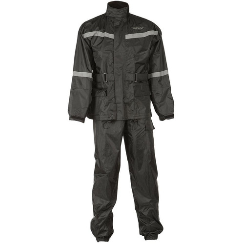 Fly Racing Two-Piece Rain Suit (Black)