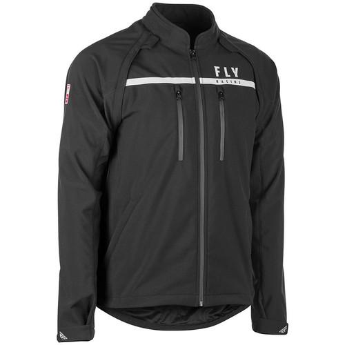 Fly Racing Patrol Jacket (Black)