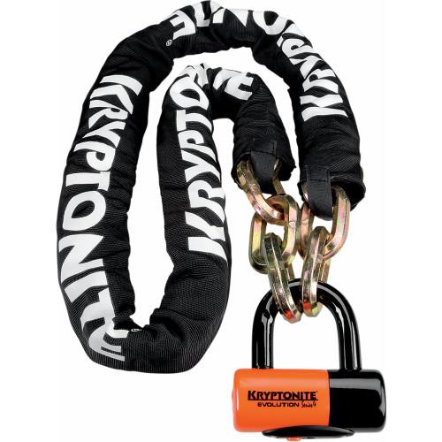 Kryptonite NY Chain & Evolution Series 4 Disc Lock