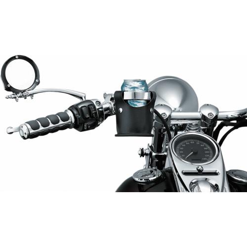 Kuryakyn Motorcycle Drink Ring with Beverage Carrier