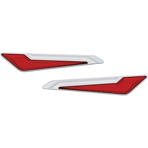 Kuryakyn Omni LED Side Saddlebag Inserts for Honda GL1800 Gold Wing