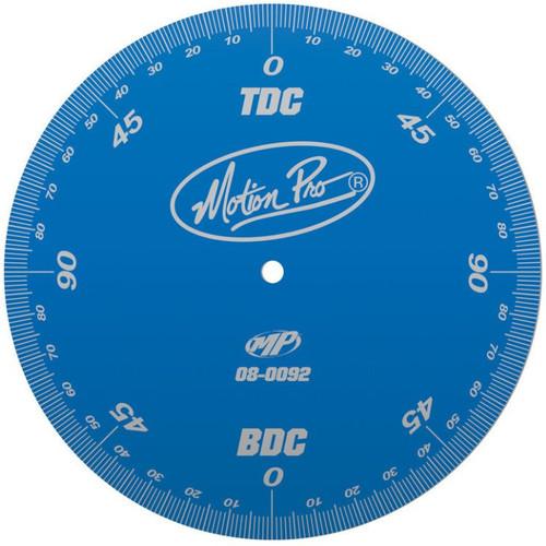 Motion Pro Engine Timing Degree Wheel