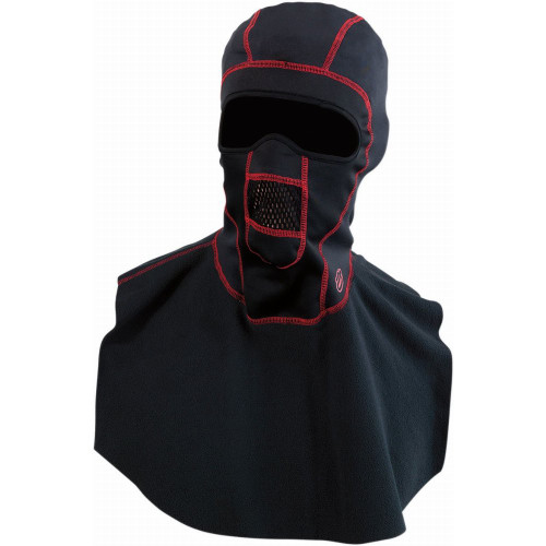 Arctiva Windshield PSP Balaclava w/Dickie (Black/Red)