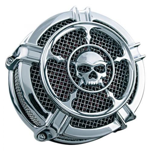 Kuryakyn Chrome Zombie Hi-Five Mach 2 Air Cleaner Assembly for Harley Davidson