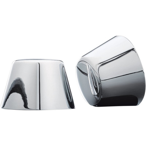 Kuryakyn Front Axle Nut Covers for Harley Davidson