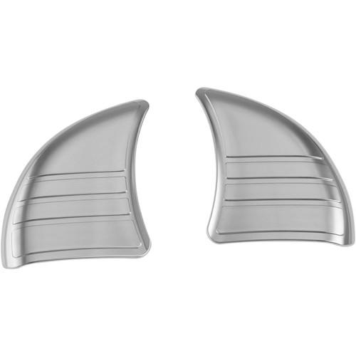 Kuryakyn Tri-Line Inner Fairing Cover Plates for Harley Davidson