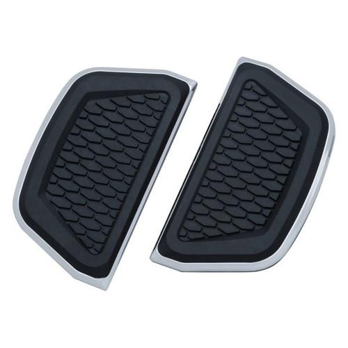 Kuryakyn Hex Passenger Floorboard Inserts for Harley Davidson