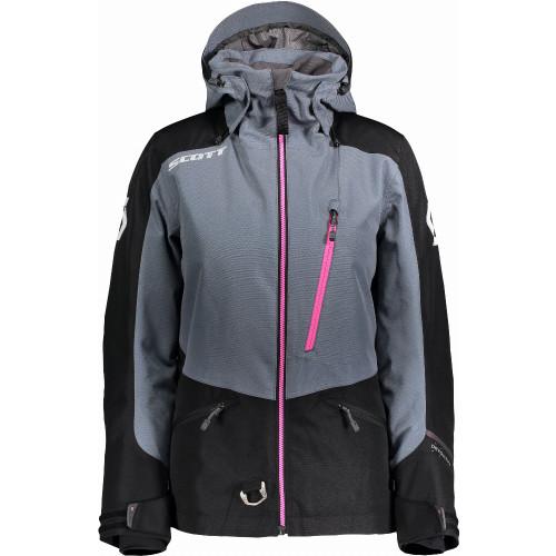 Scott Womens Intake Dryo Insulated Jacket (Black/Grey)