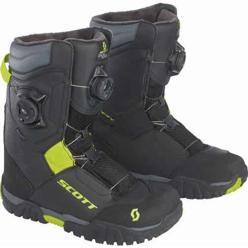 Scott Kulshan SMB Boots (Black/Yellow)