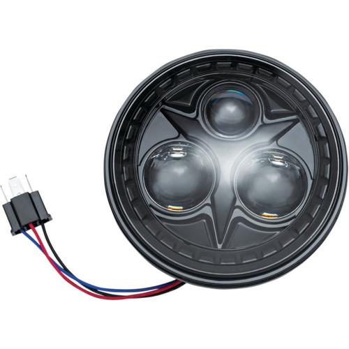 """Kuryakyn Motorcycle 5 3/4"""" Orbit LED Headlight"""