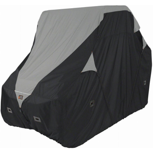 Classic Accessories UTV Deluxe Trailerable Cover (Black/Grey)
