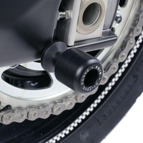 Puig Motorcycle Spool Sliders (Black)