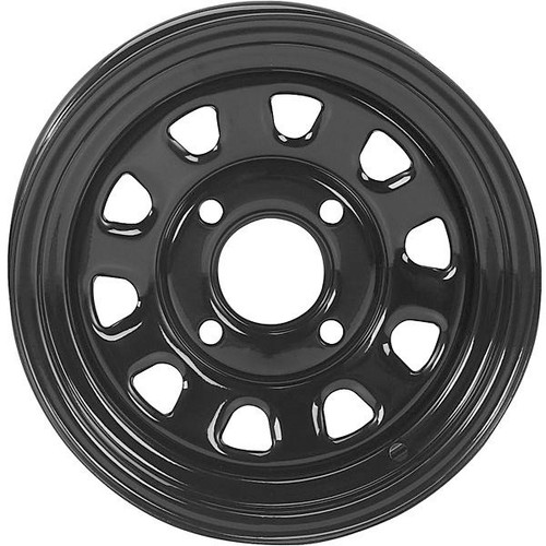 HDX Black Steel Wheel
