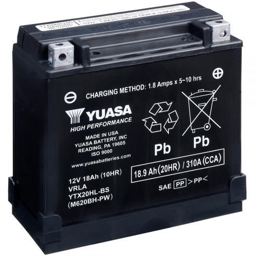 Yuasa High Performance AGM Dirt Bike Battery