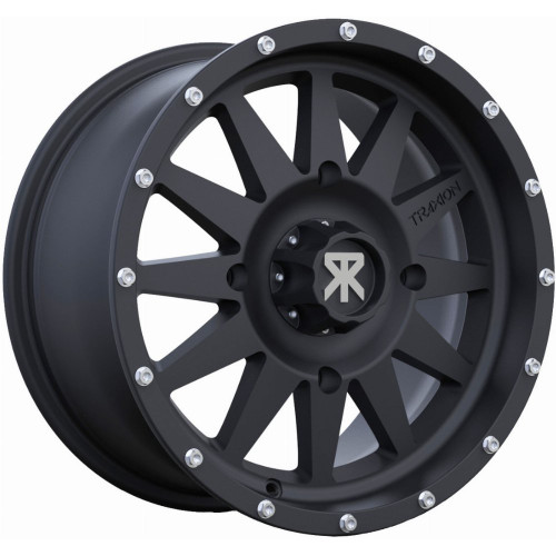 Traxion X-5 Wheel (Matte Black) *Factory Offset*