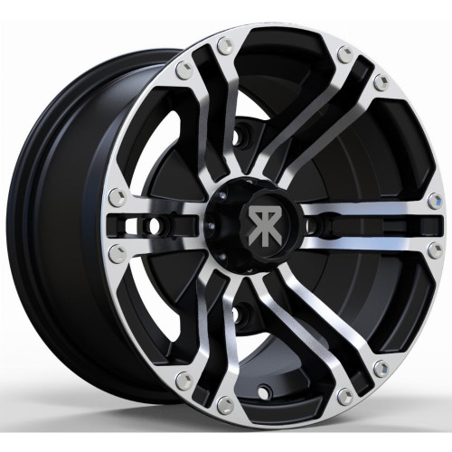 Traxion X-3 Wheel (Machined with Black)
