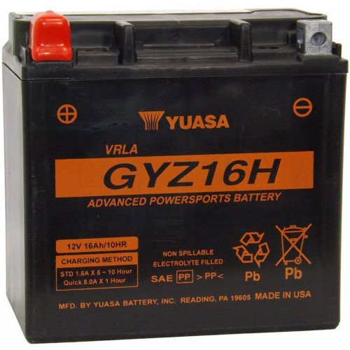 Yuasa GYZ Series ATV/UTV Factory Activated Battery