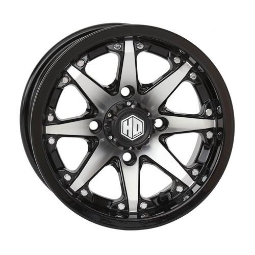 STI HD10 Wheel (Gloss Black/Machined)