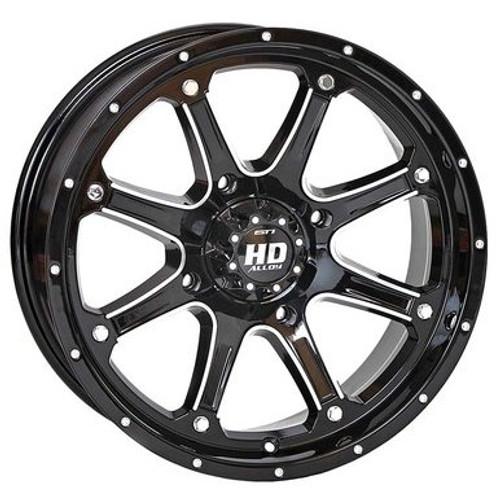 STI HD4 Wheel (Machined with Black)