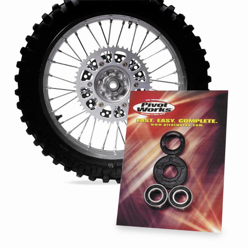 Pivot Works Dirt Bike Wheel Bearing Kit for Honda