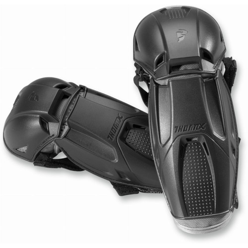 Thor Youth Quadrant Elbow Guards (Black)