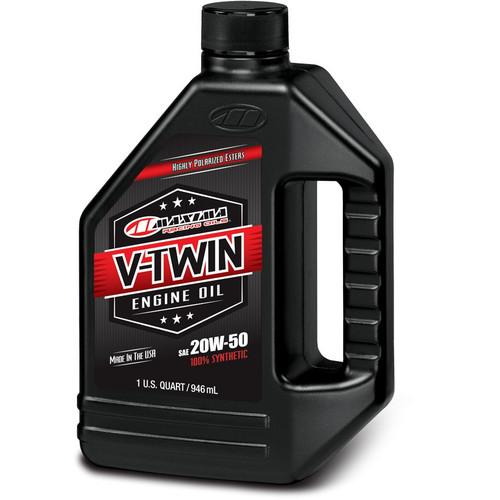 Maxima V-Twin 4-Stroke Full-Synthetic Ester Engine Oil