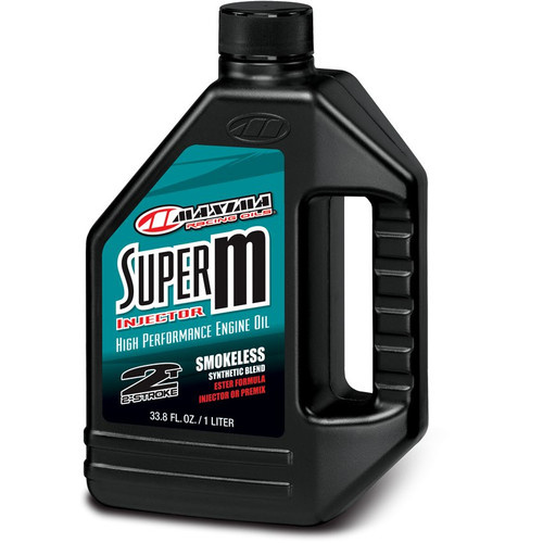 Maxima Super M Injector or Premix Ester Based Synthetic 2-Stroke Engine Oil