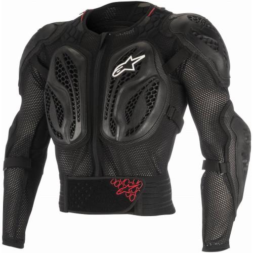 Alpinestars Youth Bionic Action Jacket (Black/Red)