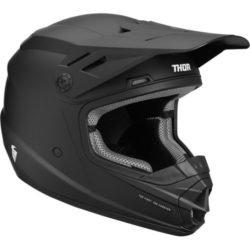 Thor Youth Sector Solid Helmet (Black)