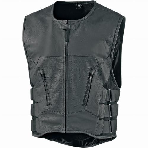Icon Regulator D30 Stripped Vest (Black)