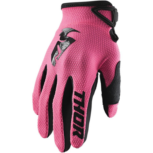 Thor Womens Sector Gloves (Pink)