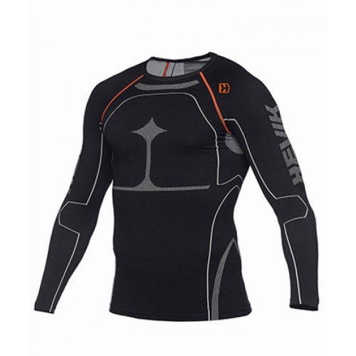 Hevik Long Sleeve Technical Shirt (Black)