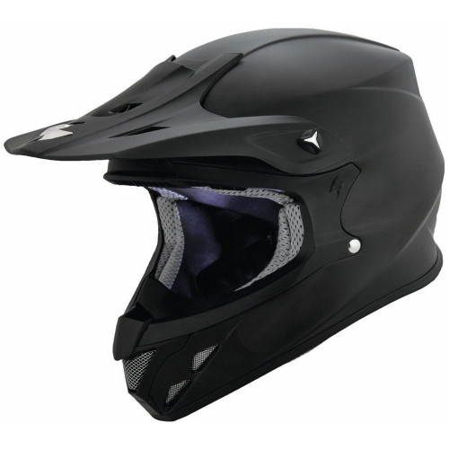 Scorpion VX-R70 Solid Helmet (Black)
