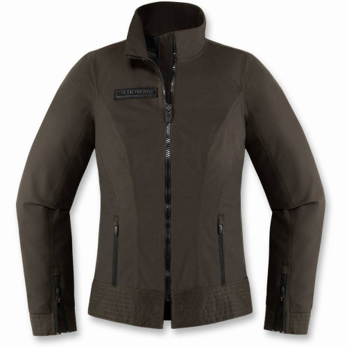Icon 1000 Womens Fairlady Waterproof Jacket (Espresso)
