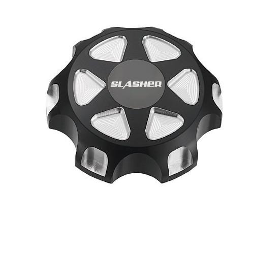 Slasher Billet Aluminum Fuel Cap for Polaris RZR