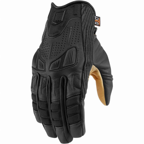 Icon 1000 Axys Gloves (Black)