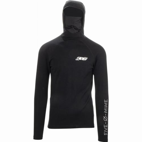 509 FZN Merino Hoodie (2020) (Black)