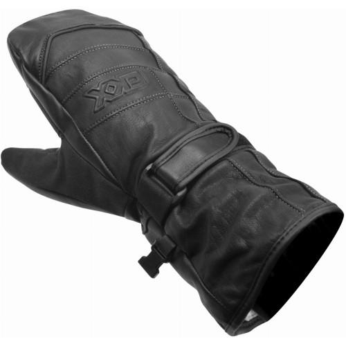 CKX Maxigrip Leather Mittens (Black)