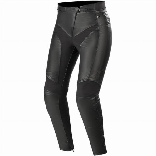 Alpinestars Womens Vika V2 Leather Pants (Black)