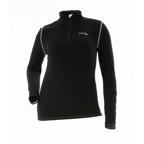 DSG D-Tech Women's Base Layer Shirt (Black)