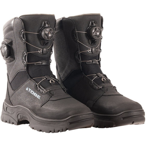 Tobe Cordus Boots (Jet Black)