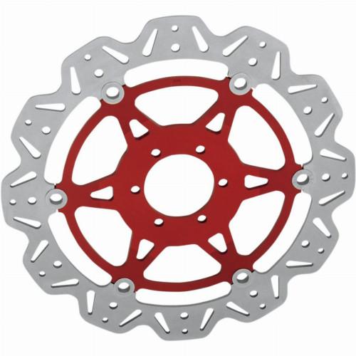 EBC Vee-Series Front Motorcycle Brake Rotor (Red)