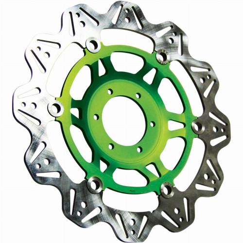 EBC Vee-Series Front Motorcycle Brake Rotor (Green)