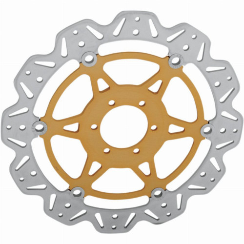 EBC Vee-Series Front Motorcycle Brake Rotor (Gold)