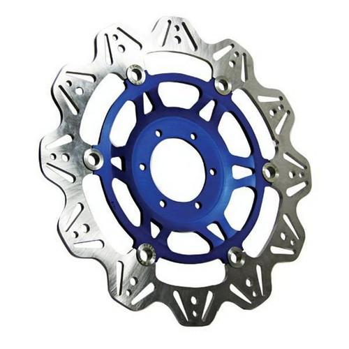EBC Vee-Series Front Motorcycle Brake Rotor (Blue)