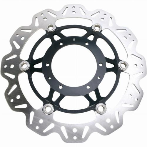 EBC Vee-Series Front Motorcycle Brake Rotor (Black)
