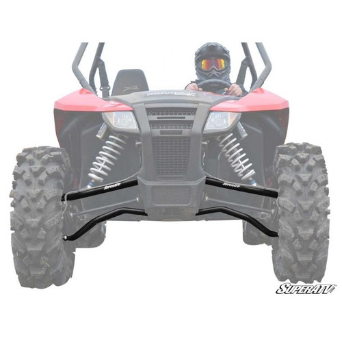 Super ATV Arctic Cat Wildcat Sport High Clearance Tubed A Arms (Black)