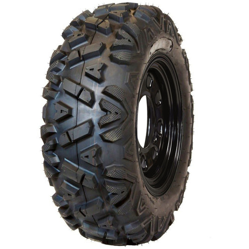 Traxion Rover Tire on Black Steel Wheel