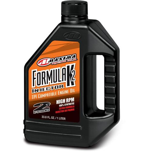 Maxima Formula K2 Injector Synthetic 2-Stroke Ester Engine Oil