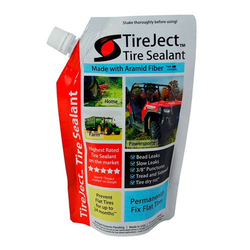 Liquid TIREJECT Tire Repair & Prevent Sealant